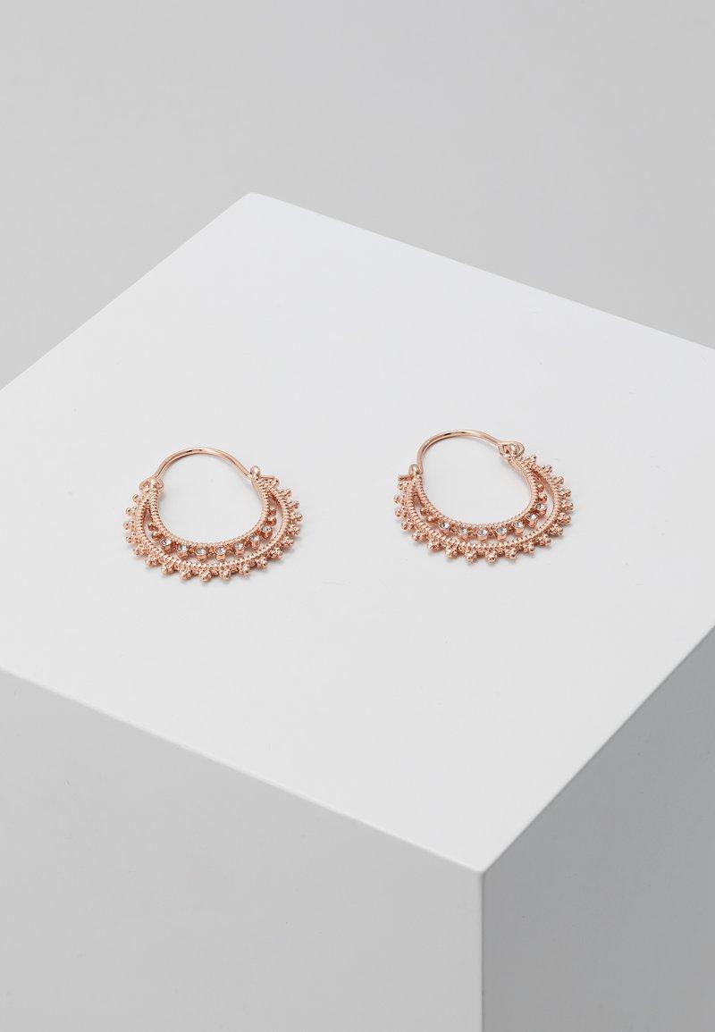 Pilgrim - EARRINGS SIGNE - Earrings - rose gold-coloured