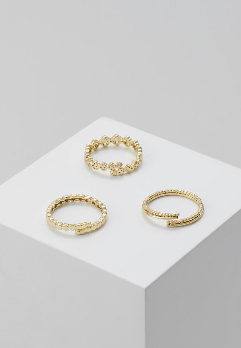 Pilgrim - JOY 3PACK - Ringar - gold-coloured