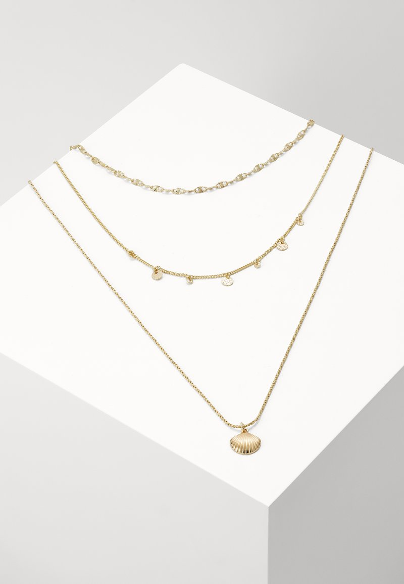Pilgrim - NECKLACE LOVE - Necklace - gold-coloured