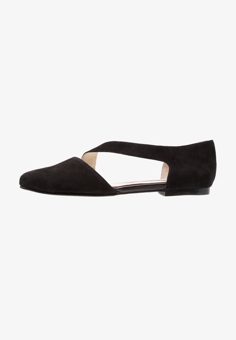 Pier One - Ballerinasko m/ rem - black