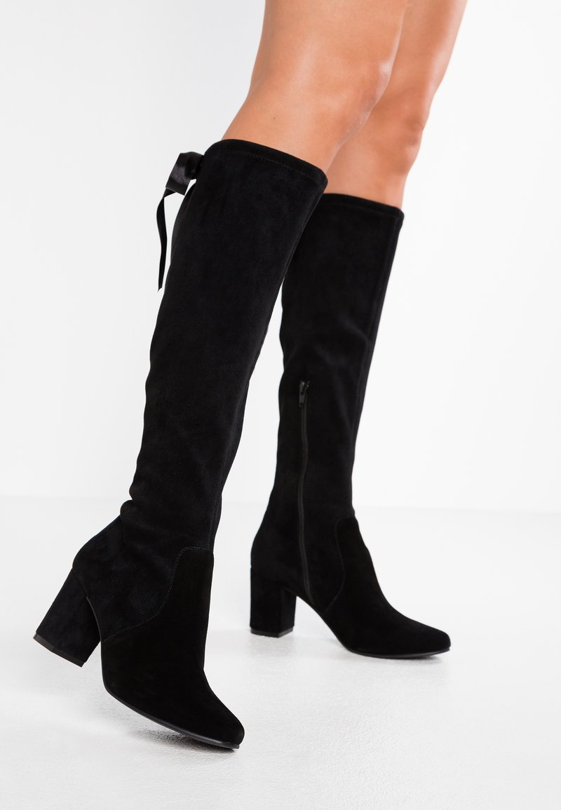 Pier One - Lace-up boots - black