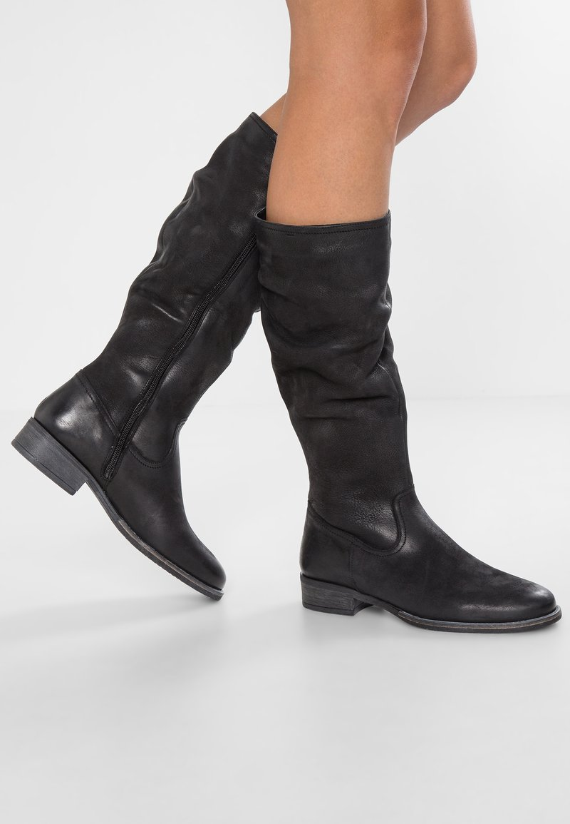 Pier One - Høje støvler/ Støvler - black