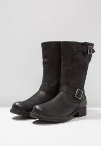 Pier One - Cowboy/Biker boots - black - 4
