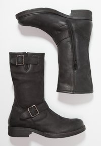 Pier One - Cowboy/Biker boots - black - 3