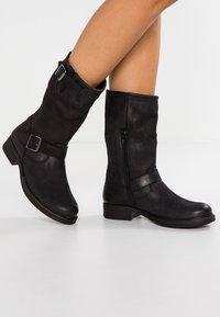Pier One - Cowboy/Biker boots - black - 0