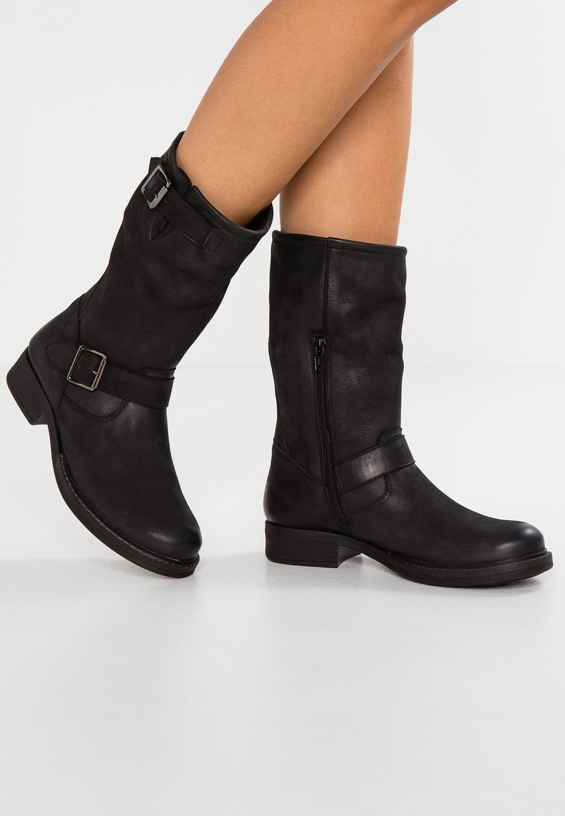 Pier One - Cowboy/Biker boots - black