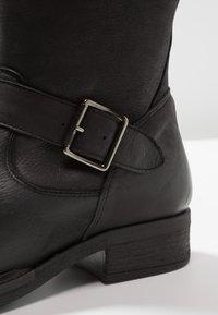 Pier One - Cowboy/Biker boots - black - 2