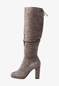 Pier One - High heeled boots - dark grey - 1