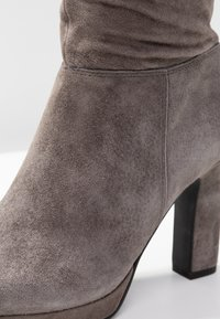 Pier One - High heeled boots - dark grey - 2