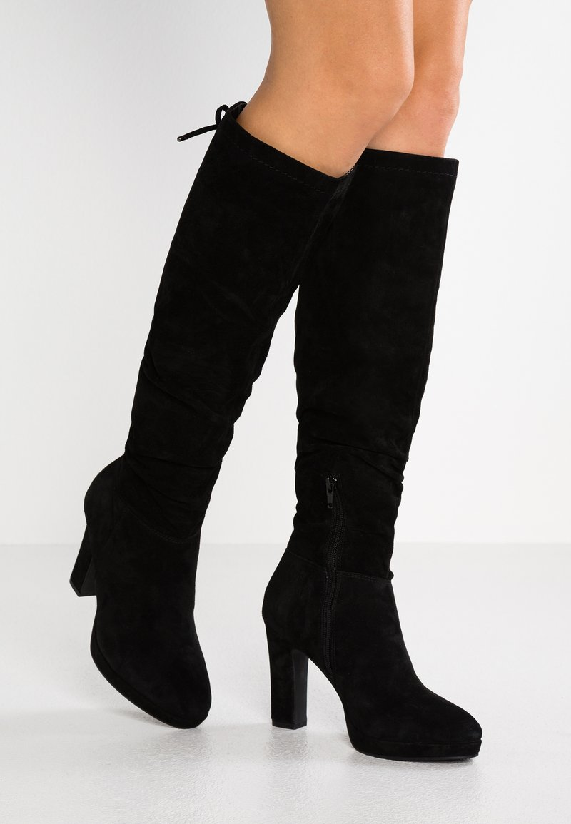 Pier One - High heeled boots - black