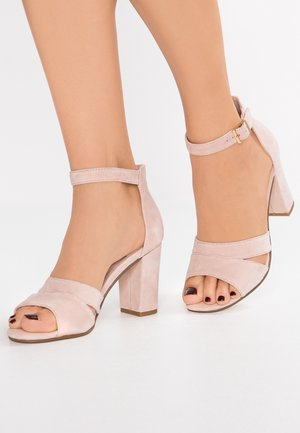 Sandalias de tacón - rose