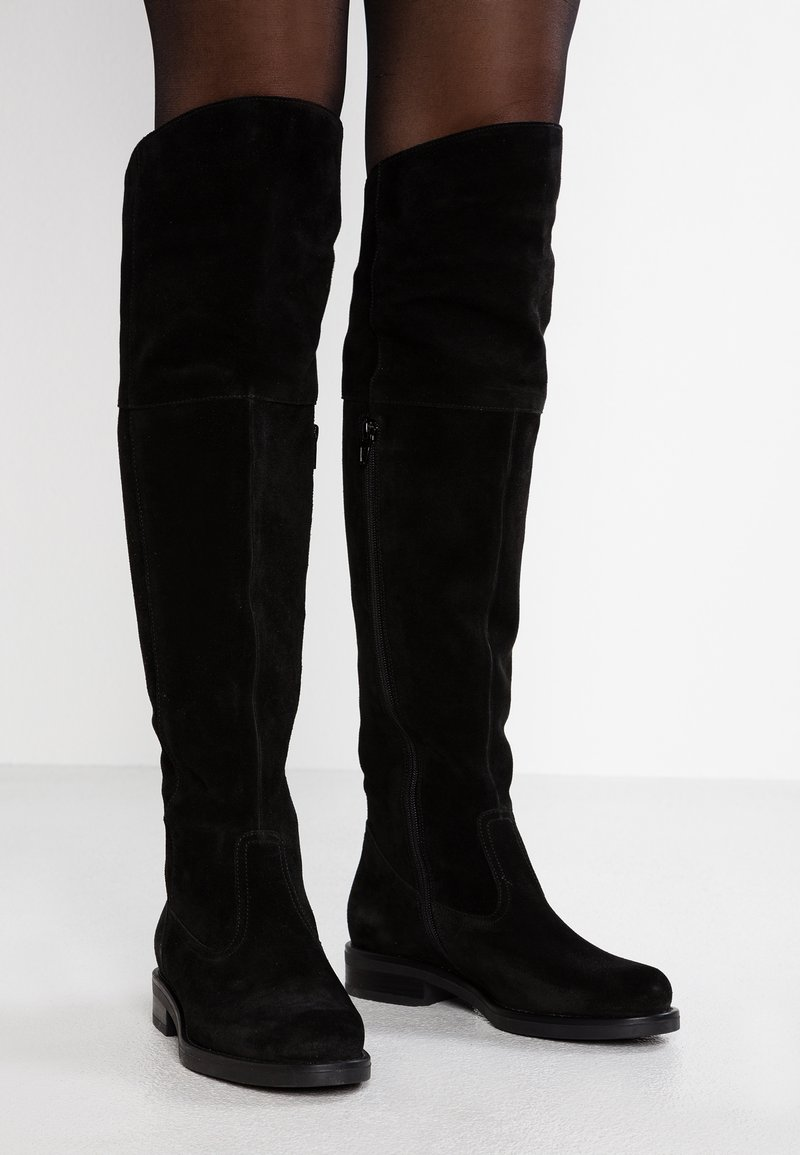 Pier One - Overknees - black