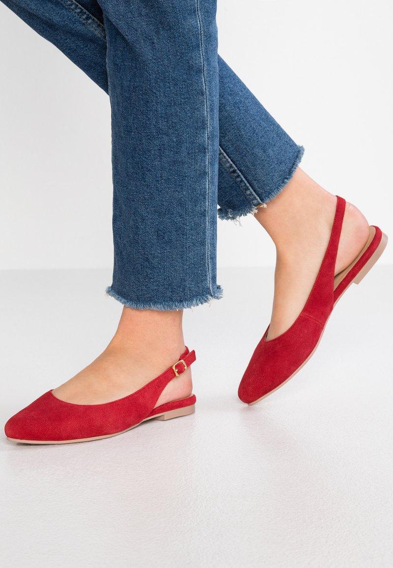 Pier One - Ballerine - red