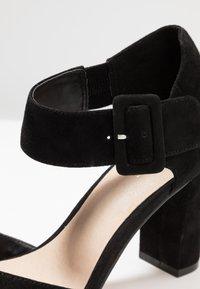 Pier One - High heeled sandals - black - 2