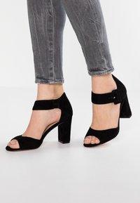 Pier One - High heeled sandals - black - 0