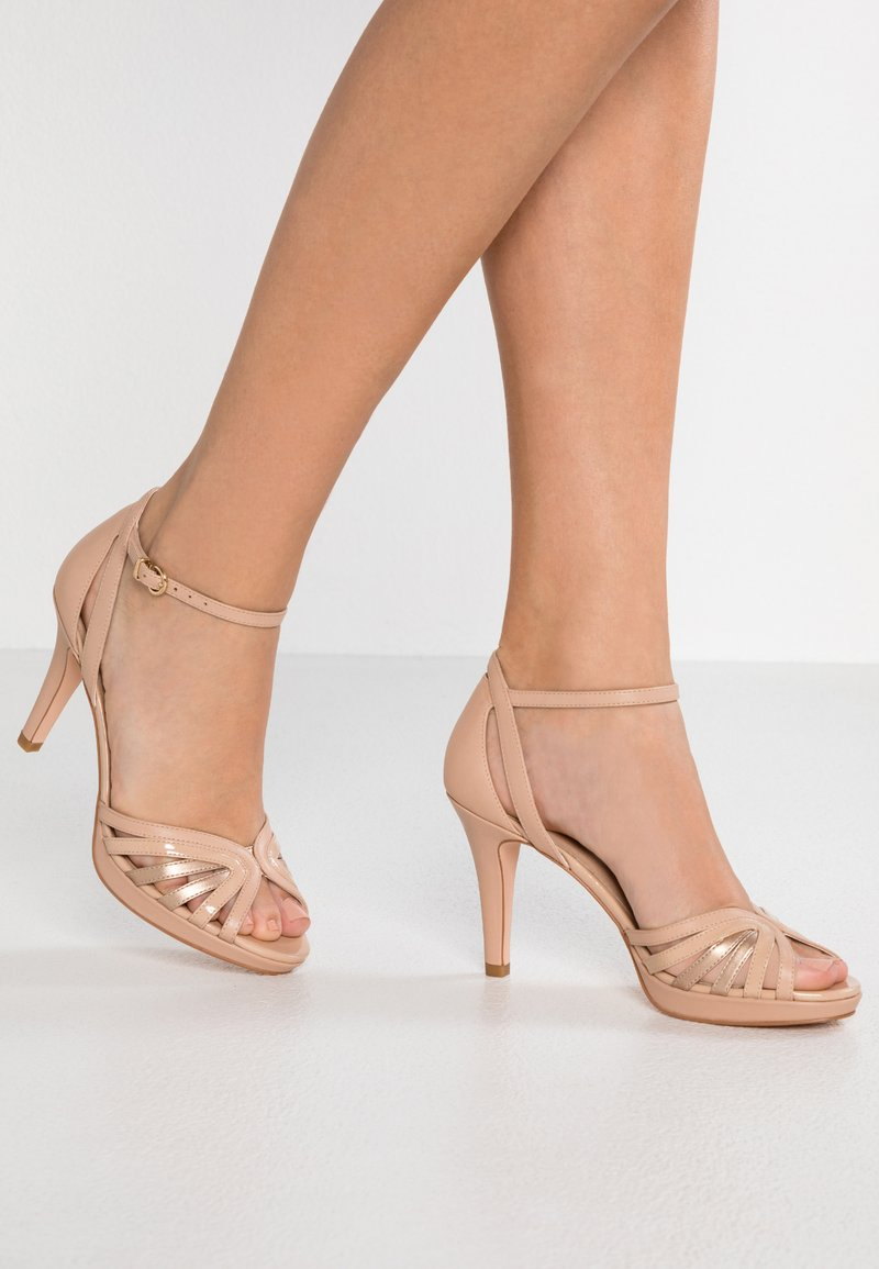 Pier One - High heeled sandals - nude