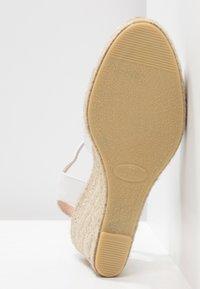 Pier One - Sandály na vysokém podpatku - white - 6