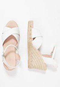 Pier One - Sandály na vysokém podpatku - white - 3