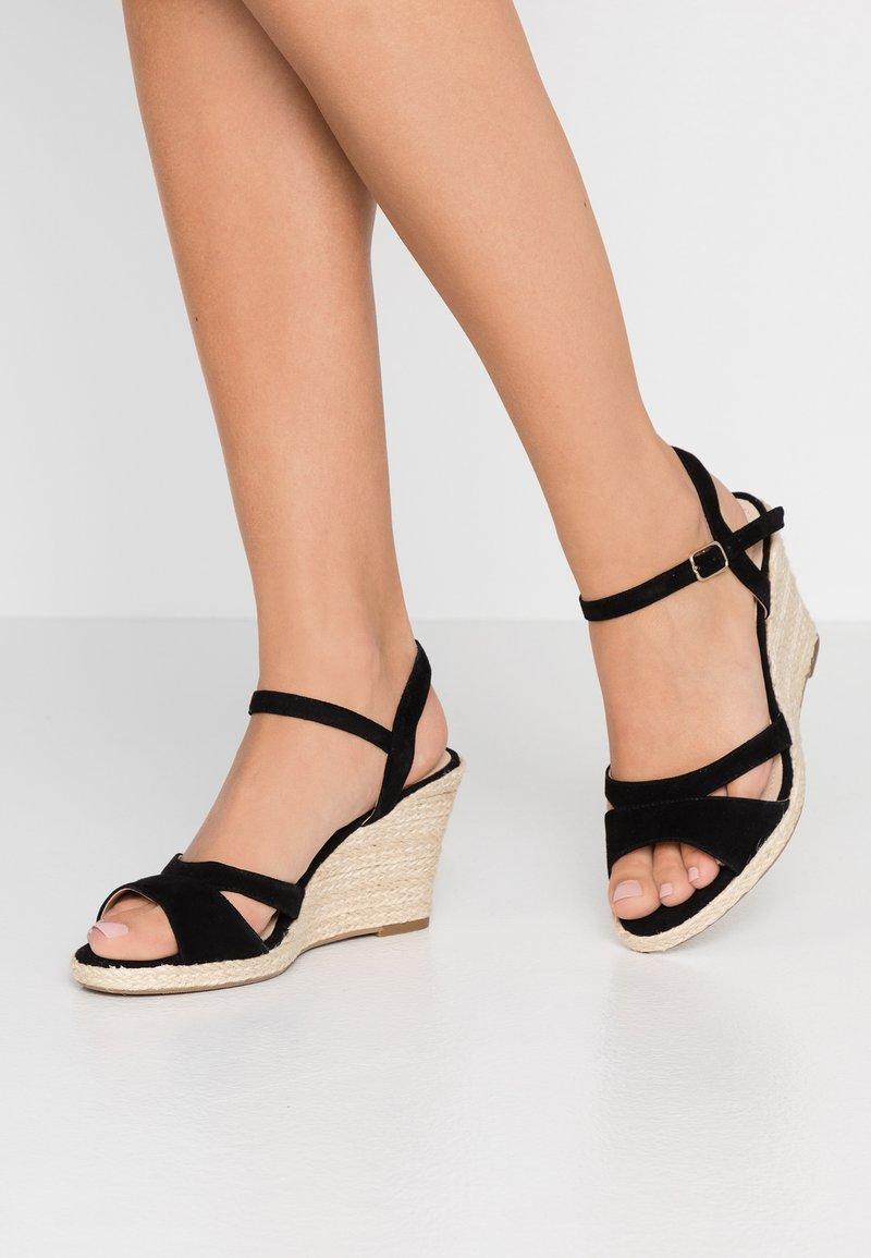 Pier One - High heeled sandals - black