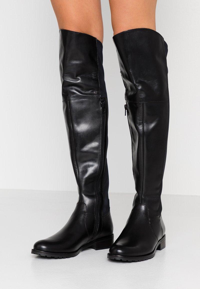 Pier One - Høye støvler - black