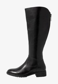Pier One - Vysoká obuv - black - 1