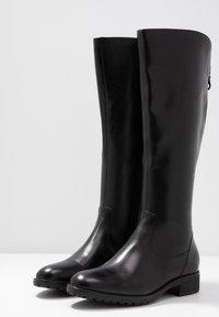 Pier One - Vysoká obuv - black - 4