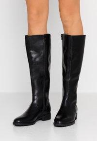 Pier One - Vysoká obuv - black - 0