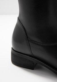 Pier One - Vysoká obuv - black - 2