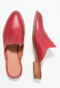 Pier One - Mules - red - 3