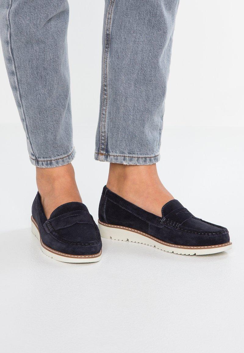 Pier One - Loafers - dark blue