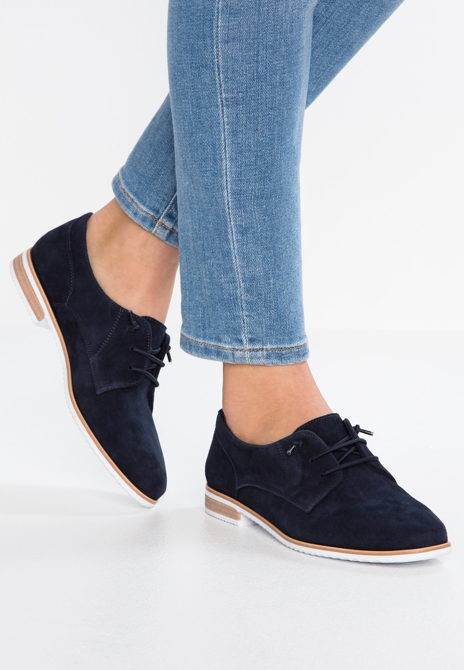 Pier One Derbies dark blue