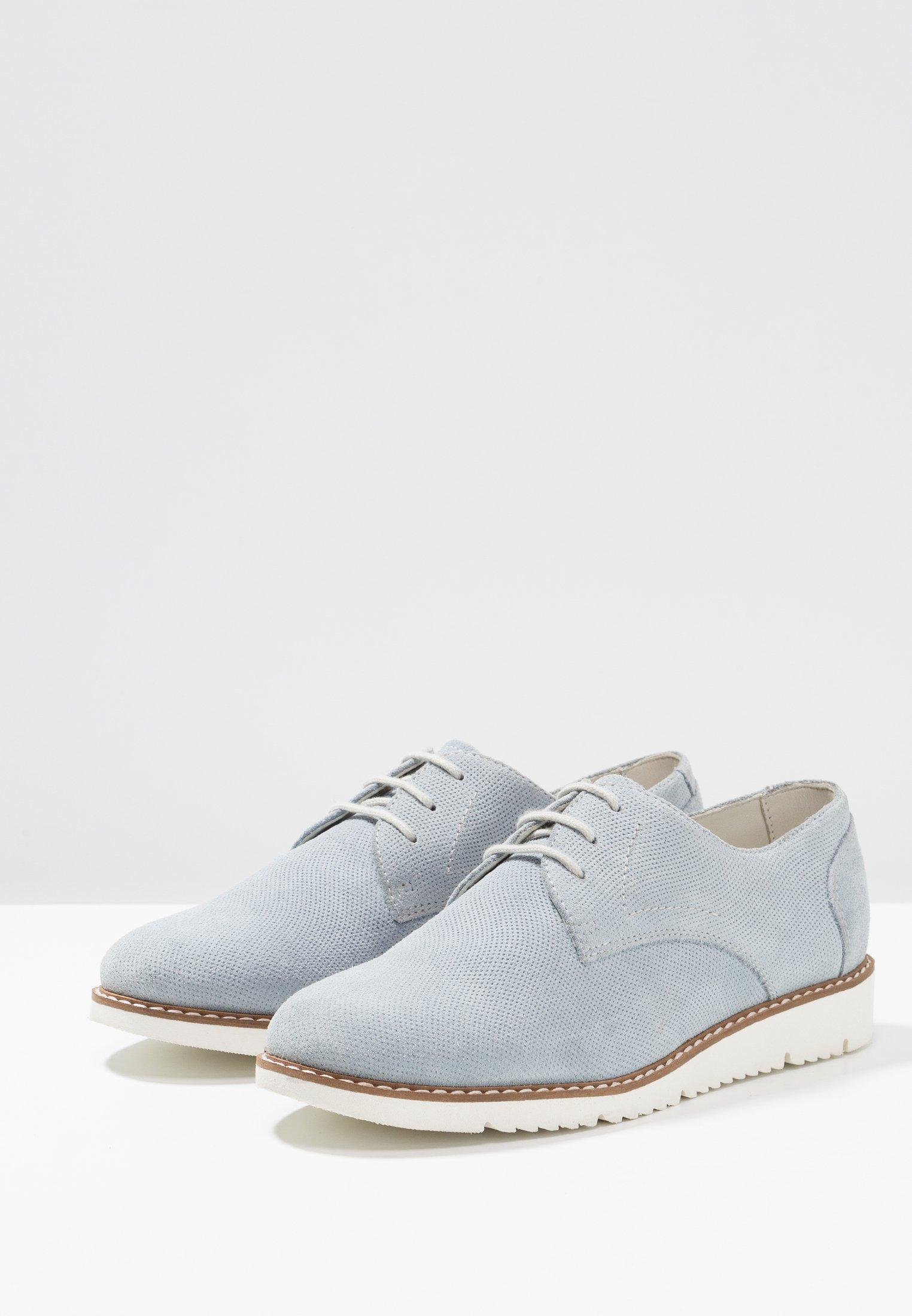 Pier One Chaussures à lacets - light blue light blue