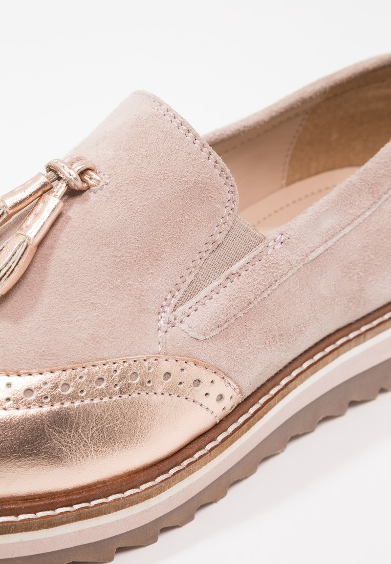 Gold Pier One Mocassins Nude rose WEH29IYD