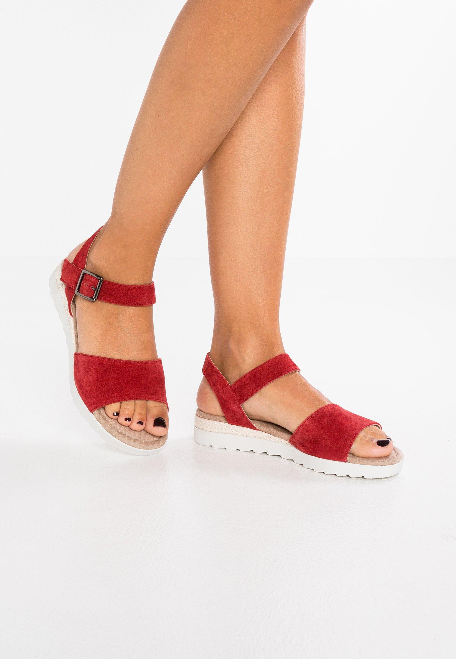 Pier One - Platform sandals - red