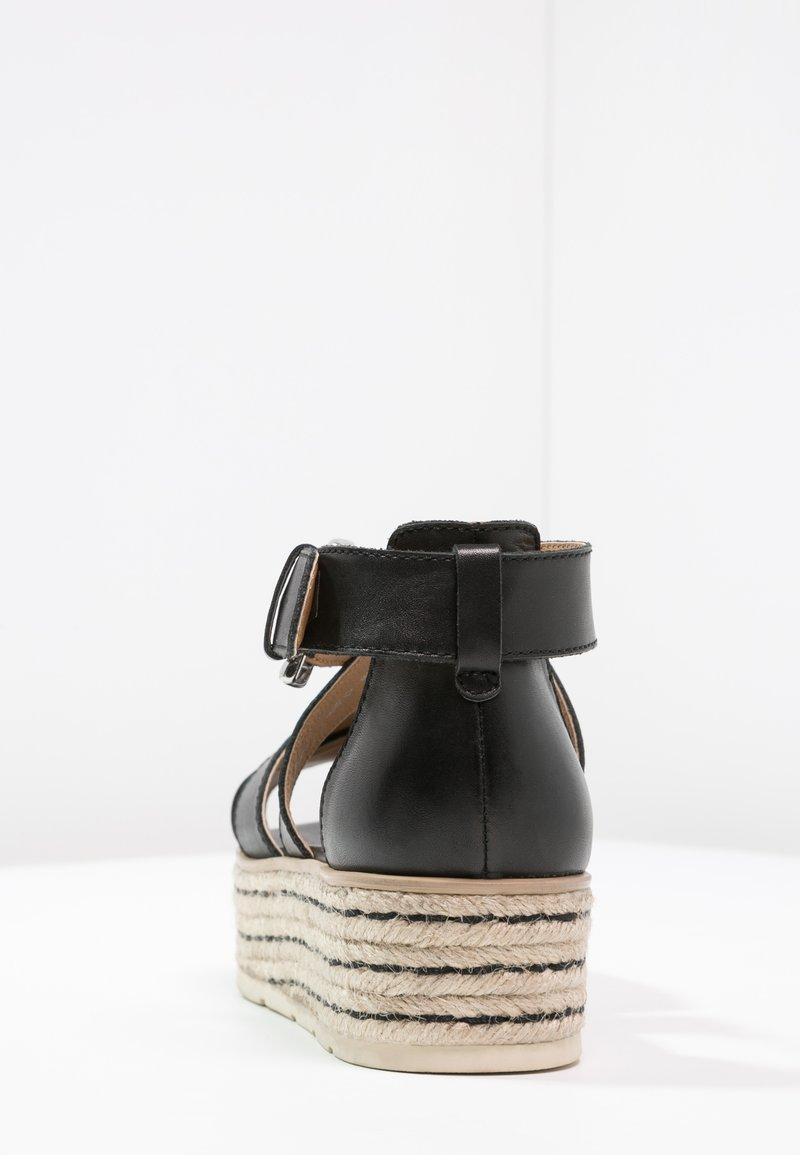 One Black Sandales Plateforme Pier À LqGVpzMSU