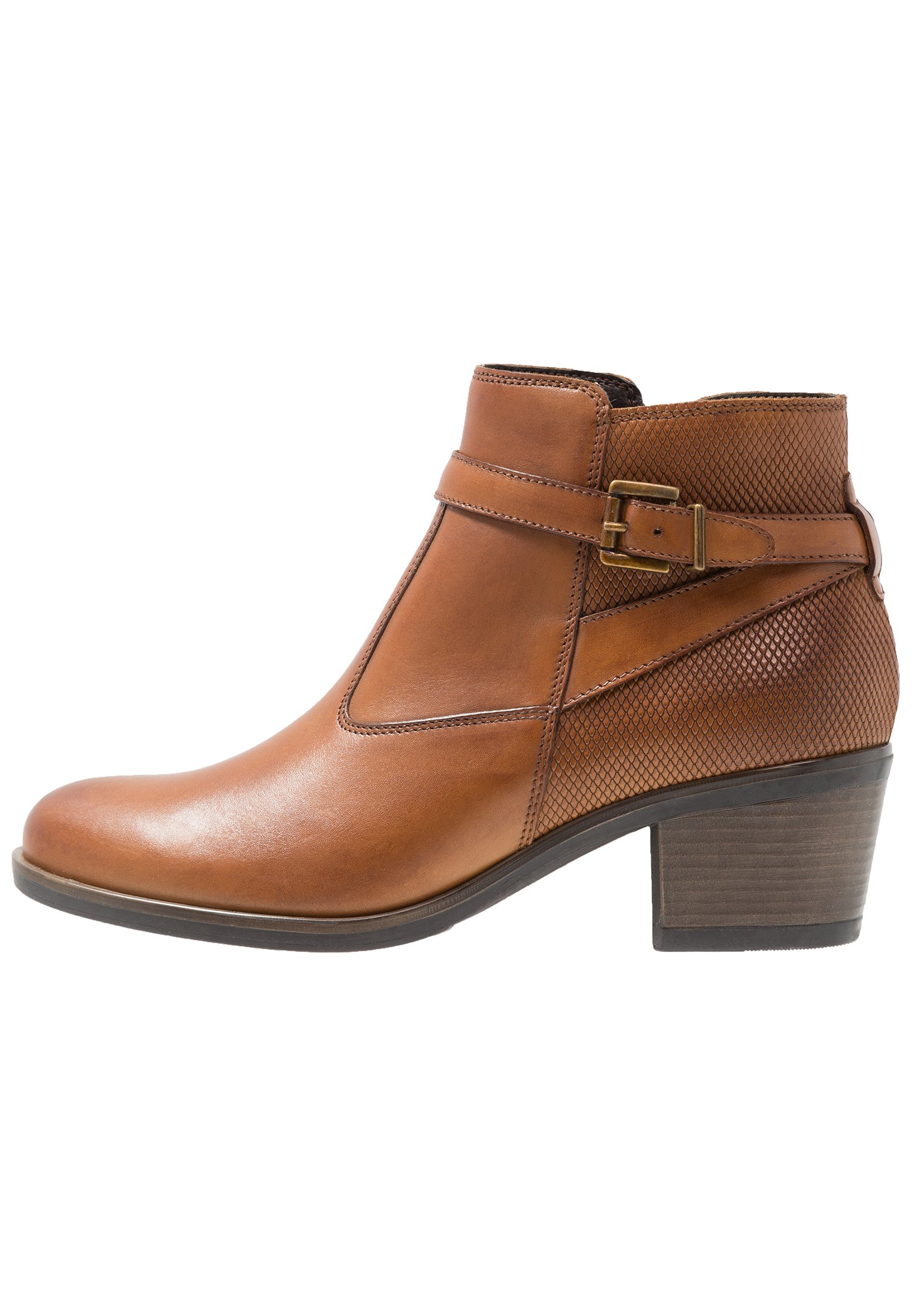 Pier One Ankle boot - cognac