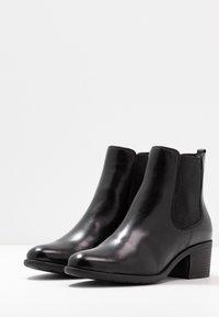Pier One - Kotníková obuv - black - 4