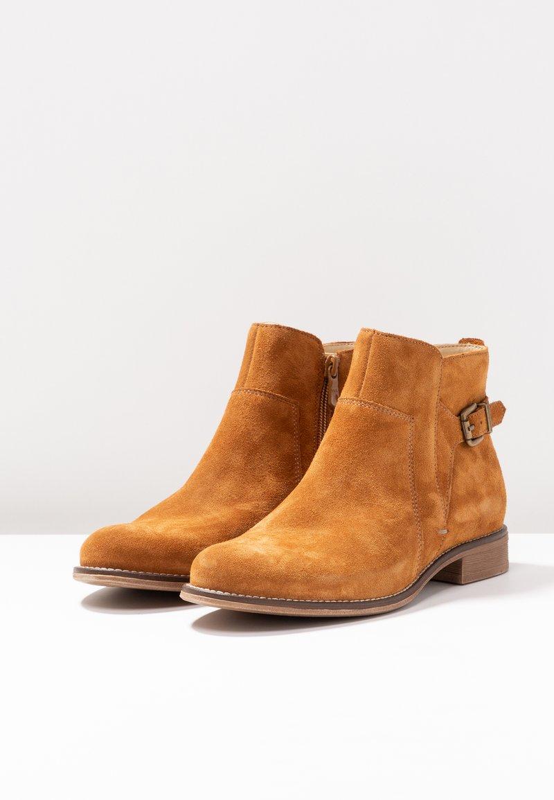 Boots One Pier À Cognac Talons TK1J3clF