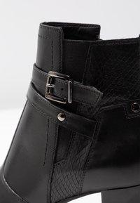 Pier One - Boots à talons - black - 2