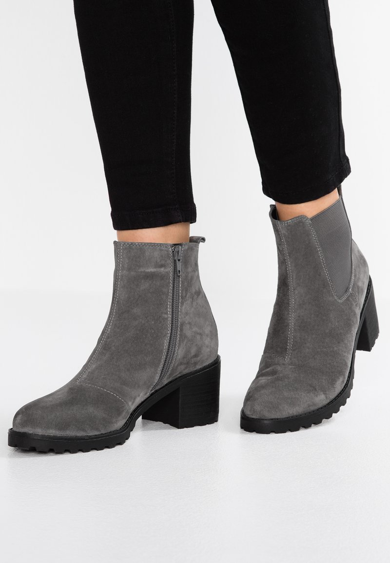 Pier One - Botines bajos - dark grey
