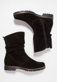 Pier One - Vysoká obuv - black - 3