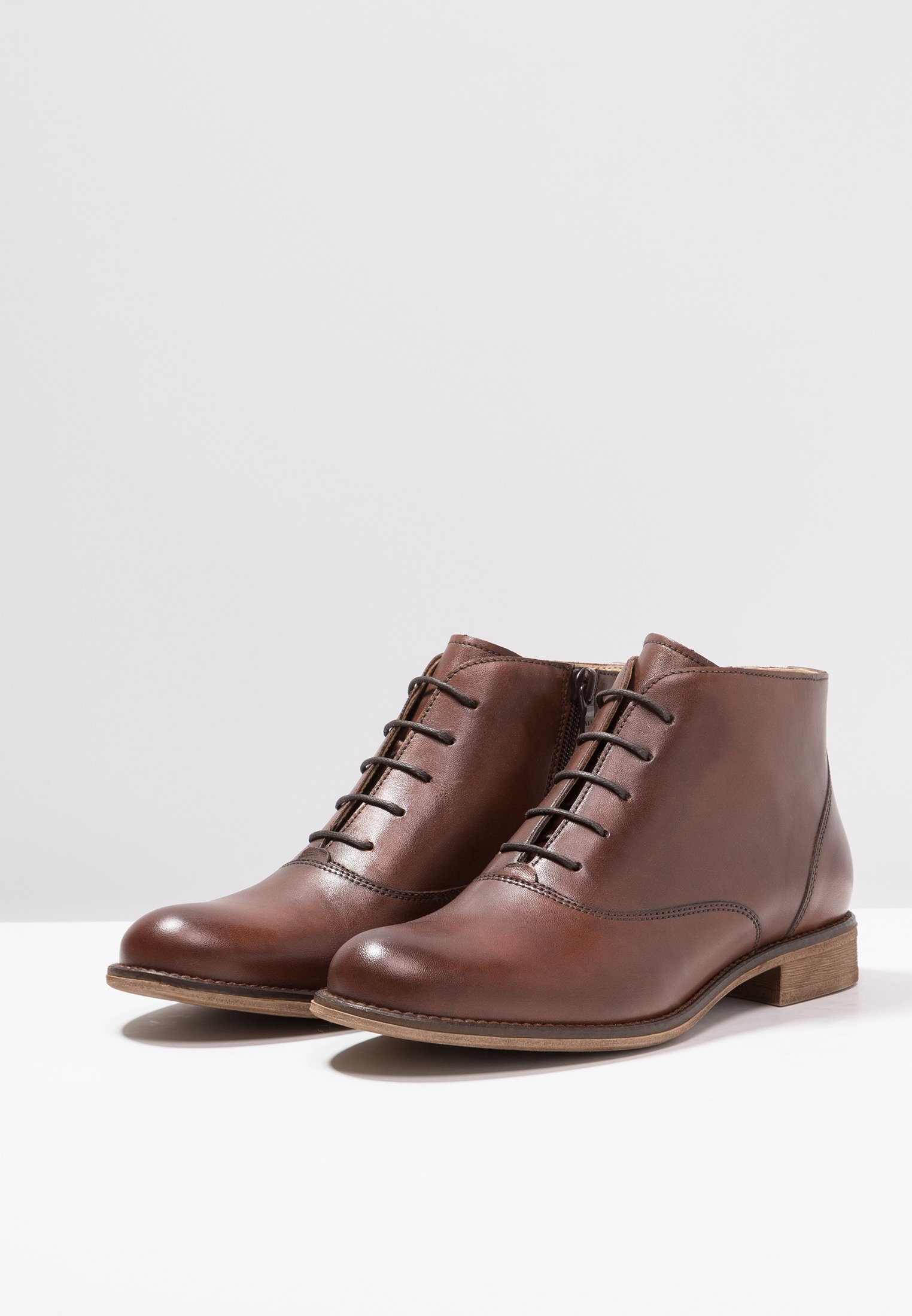 Pier One Ankle Boot dark brown