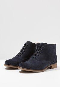 Pier One - Kotníková obuv - dark blue - 4