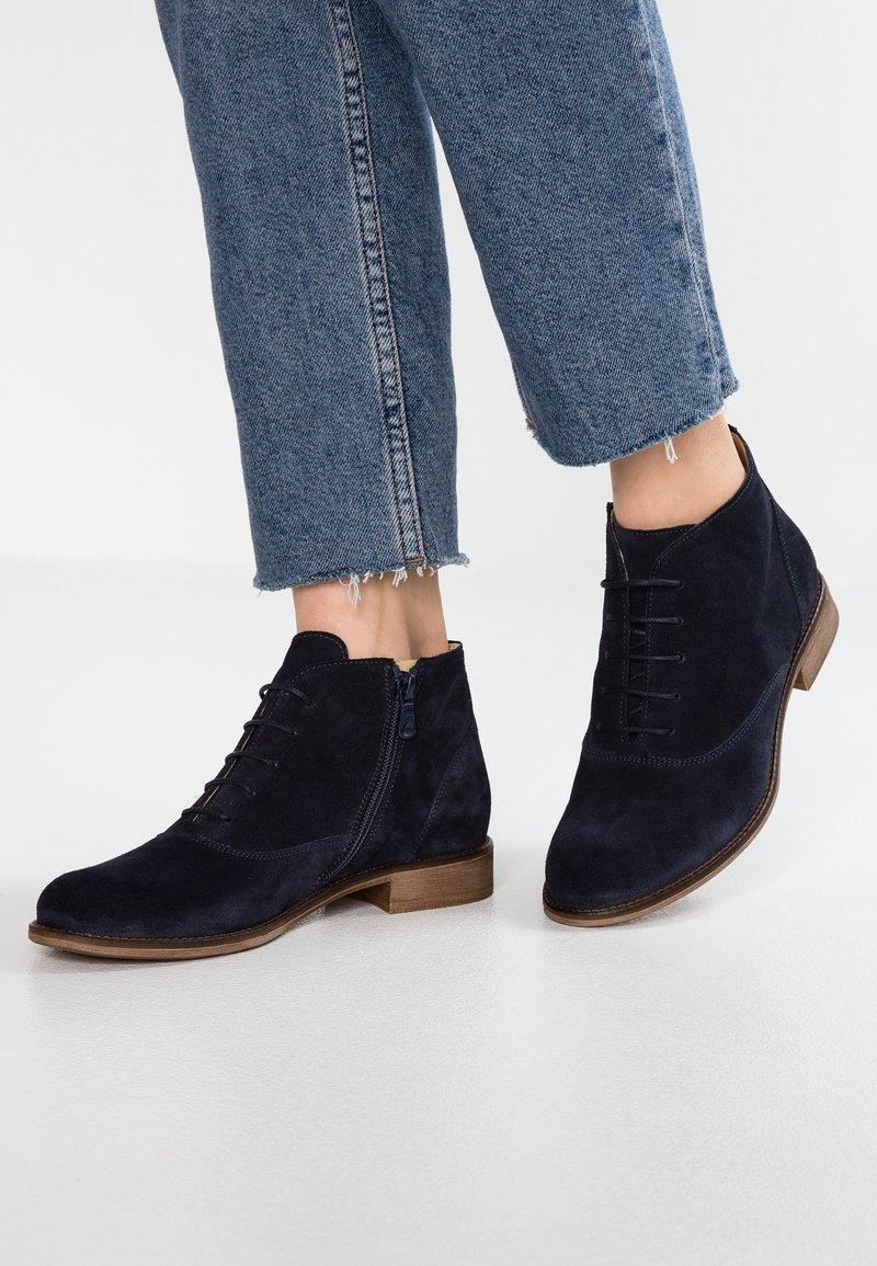 Pier One - Kotníková obuv - dark blue