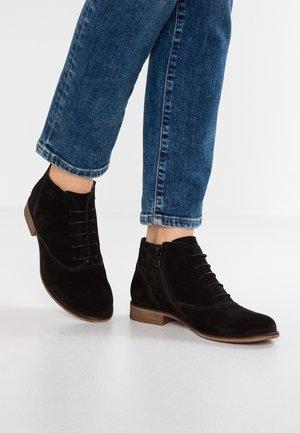 Boots à talons - black