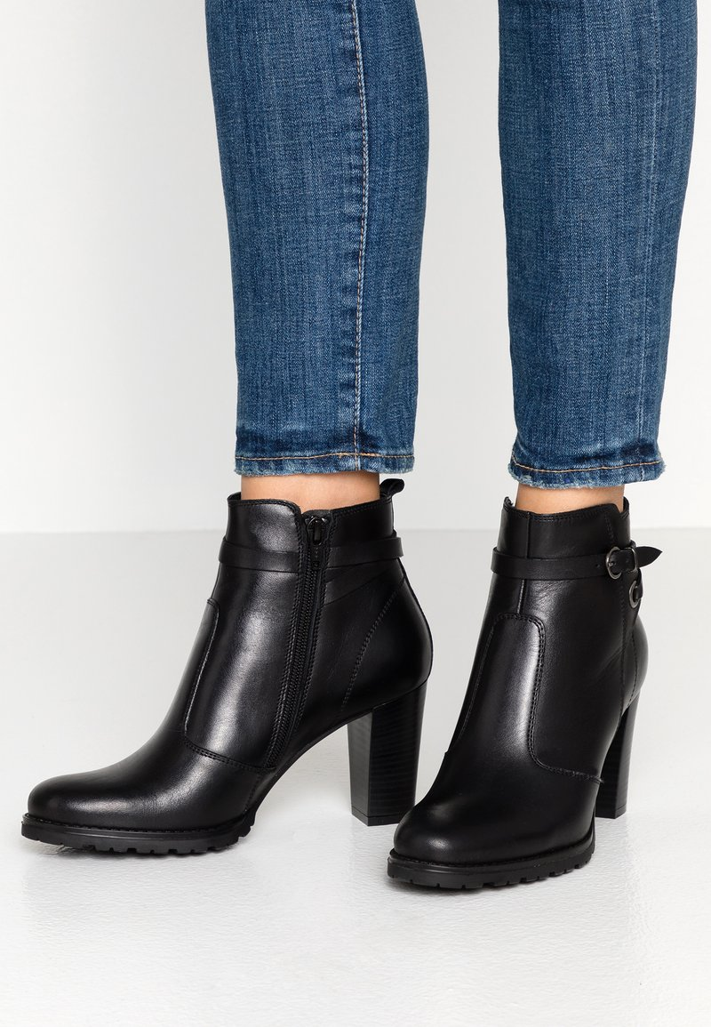 Pier One - Boots à talons - black
