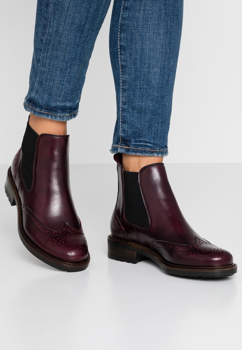 Pier One - Ankle Boot - bordeaux