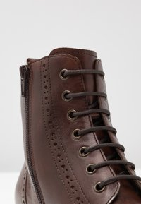 Pier One - Lace-up ankle boots - brown - 2