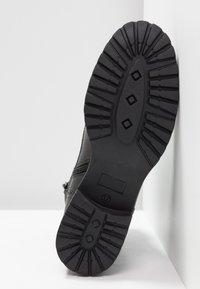 Pier One - Šněrovací kotníkové boty - black - 6