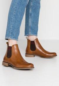 Pier One - Ankle boots - cognac - 0